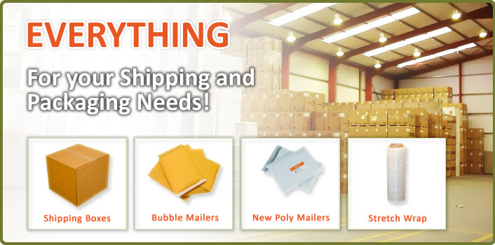 Shipping Boxes and Supplies